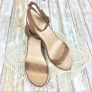 Crocs | Isabella Block Heel Ankle Strap Sandal